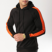 /achat-sweats-capuche/frilivin-sweat-capuche-avec-bandes-6079-noir-orange-170316.html