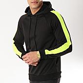 /achat-sweats-capuche/frilivin-sweat-capuche-avec-bandes-6079-noir-jaune-fluo-170334.html