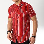 /achat-chemises-manches-courtes/frilivin-chemise-manches-courtes-bm1043c-rouge-170344.html