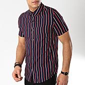 /achat-chemises-manches-courtes/frilivin-chemise-manches-courtes-bm1043c-bleu-marine-170346.html
