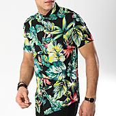 /achat-chemises-manches-courtes/frilivin-chemise-manches-courtes-bm1043a-noir-floral-170347.html