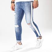 /achat-jeans/ikao-jean-slim-a-bandes-1004-bleu-denim-170412.html