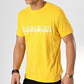 /achat-t-shirts/napapijri-tee-shirt-sevora-n0yij9-jaune-170409.html