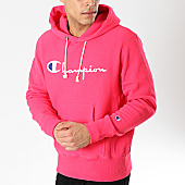 /achat-sweats-capuche/champion-sweat-capuche-212574-rose-170572.html