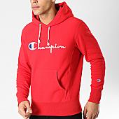 /achat-sweats-capuche/champion-sweat-capuche-212574-rouge-170573.html