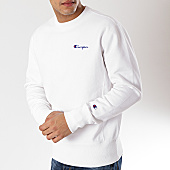 /achat-sweats-col-rond-crewneck/champion-sweat-crewneck-212994-blanc-170604.html