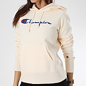 /achat-sweats-capuche/champion-sweat-capuche-femme-111555-ecru-170651.html