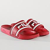 /achat-claquettes-sandales/fila-claquettes-morro-bay-1010286-rouge-170694.html