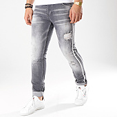 /achat-jeans/ikao-jean-slim-a-bandes-1023-gris-170554.html