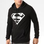 /achat-sweats-capuche/dc-comics-sweat-capuche-superman-noir-logo-argent-8803.html