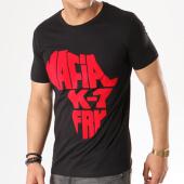 /achat-t-shirts/tee-shirt-mafia-k1-fry-authentic-noir-typo-velour-rouge-10342.html