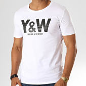 /achat-t-shirts/y-et-w-tee-shirt-logo-blanc-noir-39103.html