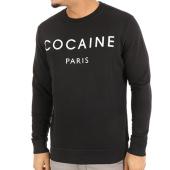 /achat-sweats-col-rond-crewneck/french-arrogance-sweat-crewneck-cocaine-noir-48450.html