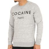 /achat-sweats-col-rond-crewneck/french-arrogance-sweat-crewneck-cocaine-gris-chine-48579.html