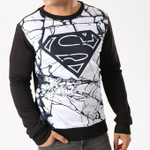 /achat-sweats-col-rond-crewneck/superman-sweat-crewneck-all-over-marble-noir-52540.html