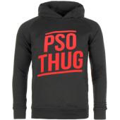 /achat-sweats-capuche/pso-thug-sweat-capuche-logo-classique-noir-rouge-60413.html
