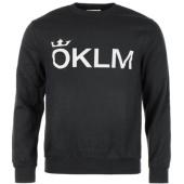 /achat-sweats-col-rond-crewneck/oklm-sweat-crewneck-classic-logo-noir-typo-blanc-63528.html