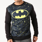 /achat-sweats-col-rond-crewneck/batman-sweat-crewneck-all-over-speckle-noir-64031.html