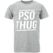 /achat-t-shirts/pso-thug-tee-shirt-logo-classique-gris-chine-blanc-65090.html