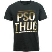 /achat-t-shirts/pso-thug-tee-shirt-logo-classique-noir-or-66833.html