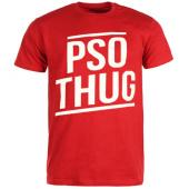 /achat-t-shirts/pso-thug-tee-shirt-logo-classique-rouge-blanc-66867.html