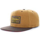 /achat-snapbacks/dickies-casquette-snapback-jamestown-marron-70331.html