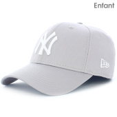 /achat-casquettes-de-baseball/new-era-casquette-enfant-940-mlb-league-basic-new-york-yankees-gris-blanc-70477.html