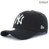/achat-casquettes-de-baseball/new-era-casquette-enfant-940-league-basic-9-forty-new-york-yankees-noir-blanc-72686.html