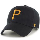 /achat-casquettes-de-baseball/47-brand-casquette-clean-up-pittsburgh-pirates-noir-73854.html