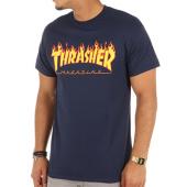/achat-t-shirts/thrasher-tee-shirt-flame-bleu-marine-75543.html