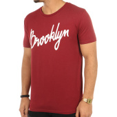 /achat-t-shirts/luxury-lovers-tee-shirt-brooklyn-script-bordeaux-76879.html