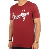 /achat-t-shirts/luxury-lovers-tee-shirt-brooklyn-script-bordeaux-76879.html