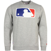 /achat-sweats-col-rond-crewneck/new-era-sweat-crewneck-mlb-logo-gris-chine-79404.html