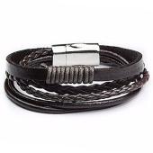 /achat-bracelets/california-jewels-bracelet-leather-magnetic-marron-75707.html