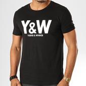 /achat-t-shirts/y-et-w-tee-shirt-logo-noir-blanc-39101.html