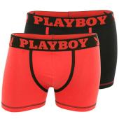 /achat-boxers/playboy-lot-de-2-boxers-40h41-noir-rouge-86385.html