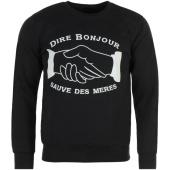 /achat-sweats-col-rond-crewneck/nqnt-sweat-crewneck-dire-bonjour-noir-86832.html