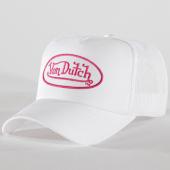 /achat-trucker/von-dutch-casquette-trucker-cas1-eva1-blanc-rose-87992.html