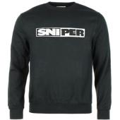 /achat-sweats-col-rond-crewneck/sniper-sweat-crewneck-logo-noir-88550.html