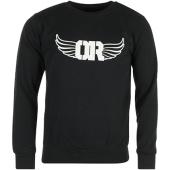 /achat-sweats-col-rond-crewneck/or-sweat-crewneck-logo-noir-blanc-88840.html
