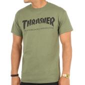 /achat-t-shirts/thrasher-tee-shirt-skate-mag-vert-kaki-90944.html