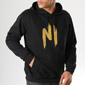/achat-sweats-capuche/ninho-sweat-capuche-ninho-noir-logo-or-92310.html