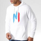 /achat-sweats-capuche/ninho-sweat-capuche-ninho-blanc-logo-rouge-bleu-92314.html