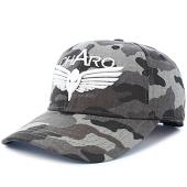 /achat-casquettes-de-baseball/charo-casquette-plain-logo-camouflage-gris-93017.html