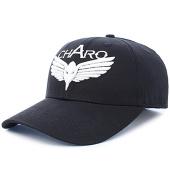 /achat-casquettes-de-baseball/charo-casquette-plain-logo-noir-93023.html
