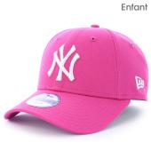 /achat-casquettes-de-baseball/new-era-casquette-enfant-940-mlb-league-new-york-yankees-rose-93534.html