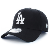 /achat-casquettes-de-baseball/new-era-casquette-fitted-39thirty-league-essential-los-angeles-dodgers-noir-blanc-93569.html