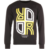 /achat-sweats-capuche/or-sweat-crewneck-reverse-noir-jaune-95899.html