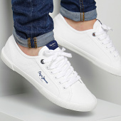/achat-baskets-basses/pepe-jeans-baskets-aberman-21-pms30352-white-96785.html