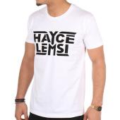 /achat-t-shirts/hayce-lemsi-tee-shirt-logo-blanc-97079.html